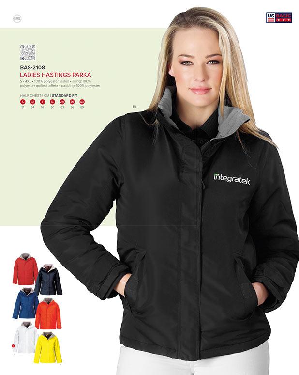 ladies parka jackets