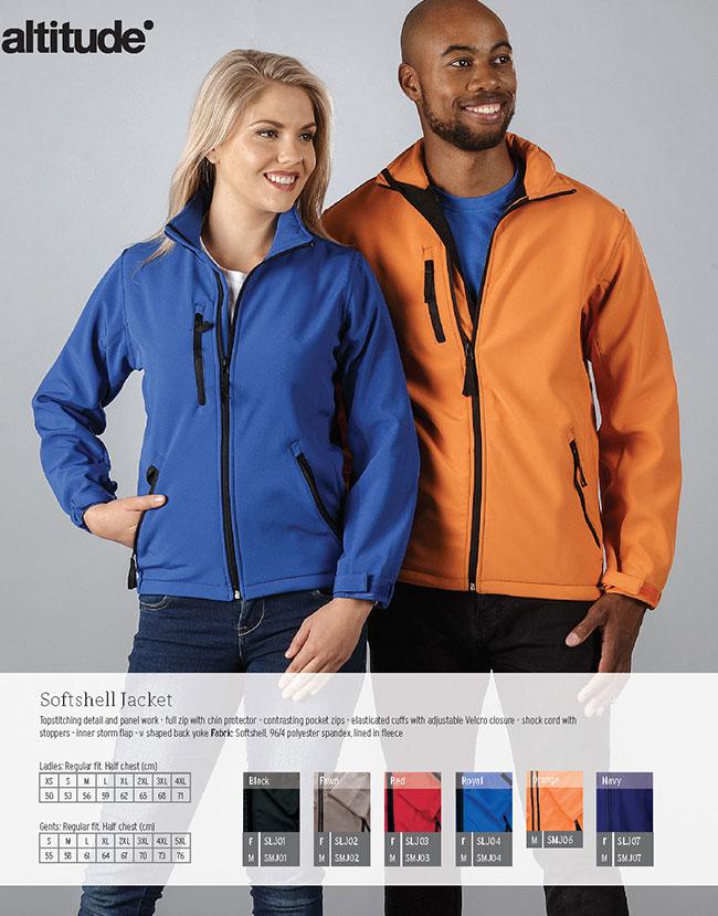 altitude soft shell jacket
